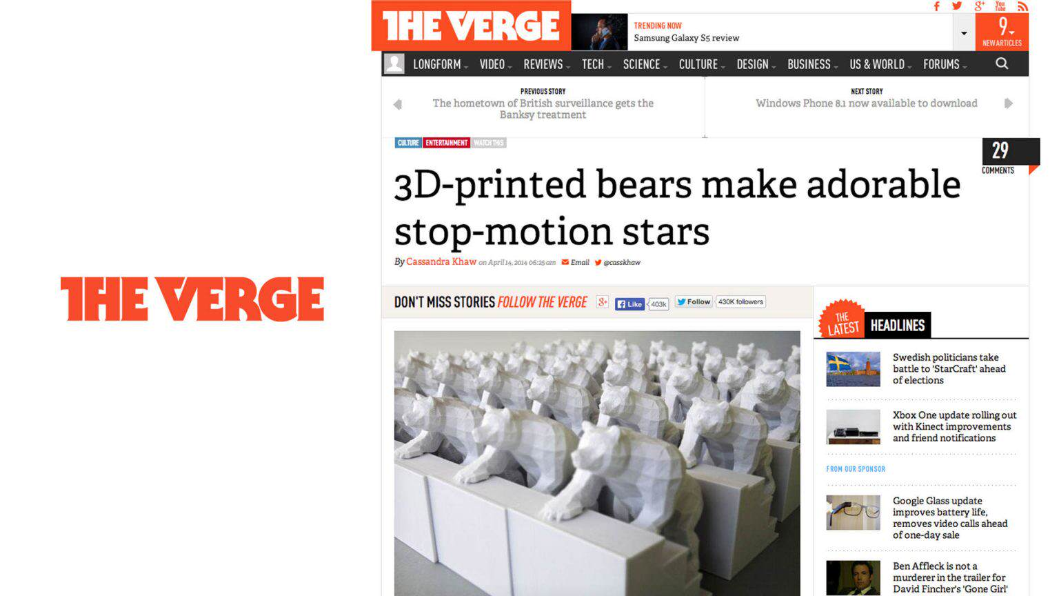 Bears On Stairs DBLG - 3d printed stop motion animation bear stairs